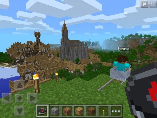 Minecraft скачать бесплатно на планшет